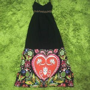 DESIGUAL Maxi Dress Women's Size 6 / 36